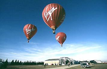 Virgin hot balloon flight for one