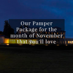 Our pamper package of the month for November that you'll love
