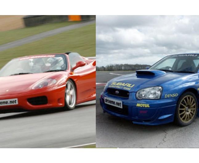 Ferrari v subaru or evo experience oxford ferrari v subaru or evo experience freerunsca Choice Image
