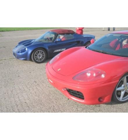 Ferrari V Lotus Experience