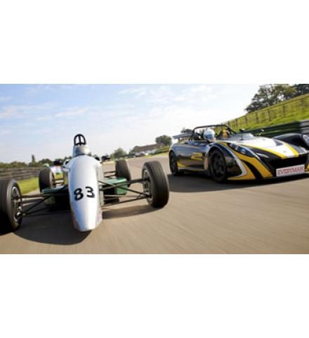 Single Seater Vs Lotus 211 (Mallory Park)