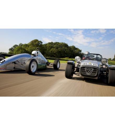 Single Seater V Caterham Supersport 7 ( Mallory Park )