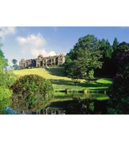 The stunning setting of Bovey Castle
