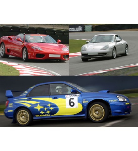 Ferrari, Porsche and Rally Experience