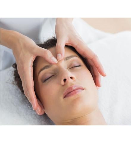 Indian Head Massage Reading Relaxing Massage