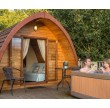 Three Night Glamping MegaPod Experience at Wootton Park Exterior