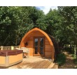 Three Night Glamping MegaPod Experience at Wootton Park Outer